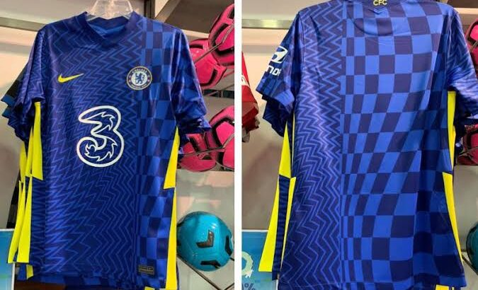 2021/2022 CHELSEA HOME JERSEY